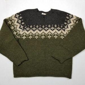 J. Crew Vintage Wool Sweater Sz Large EUC
